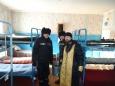 Помещения отрядов ИК-3 забайкальского УФСИН окропили святой водой