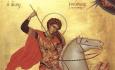 Для несовершеннолетних осужденных проведено лекционное занятие, посвященное Дню памяти Святого Георгия Победоносца