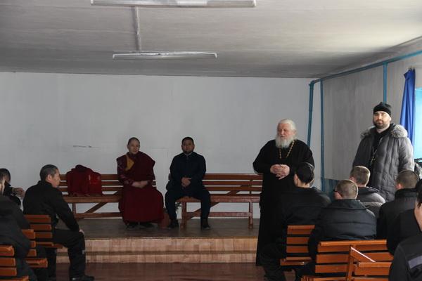Молитвы о совершении правосудия прочитали в читинской ИК-3