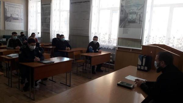 В Управлении по конвоированию забайкальского УФСИН прошло занятие по духовно-нравственному развитию сотрудников