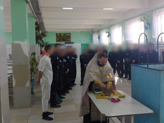 Двадцать пять осужденных прошли обряд крещения в краснокаменской ИК-10