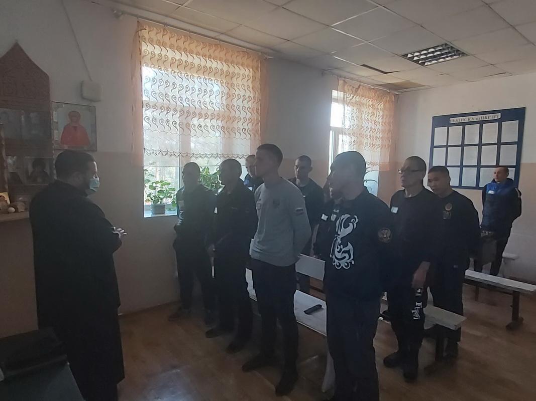 Осужденных тыргетуйской колонии-поселения посетил священнослужитель