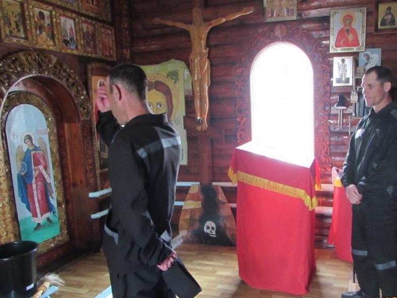 Священнослужитель посетил нерчинскую исправительную колонию в православный праздник День Святой Троицы