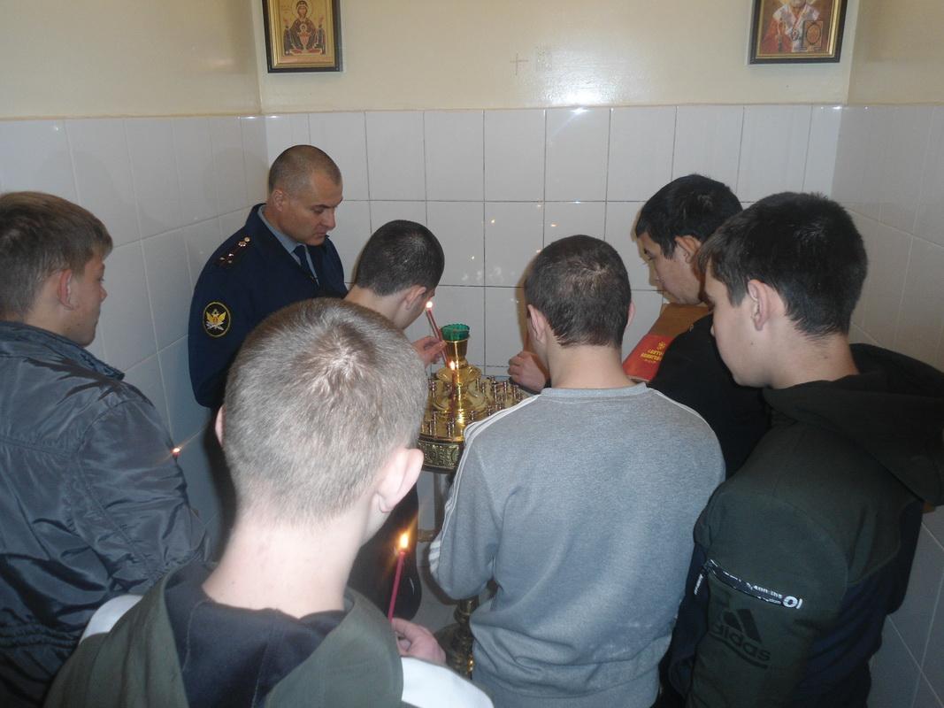Рождество Пресвятой Богородицы отметили в УФСИН России по Забайкальскому краю