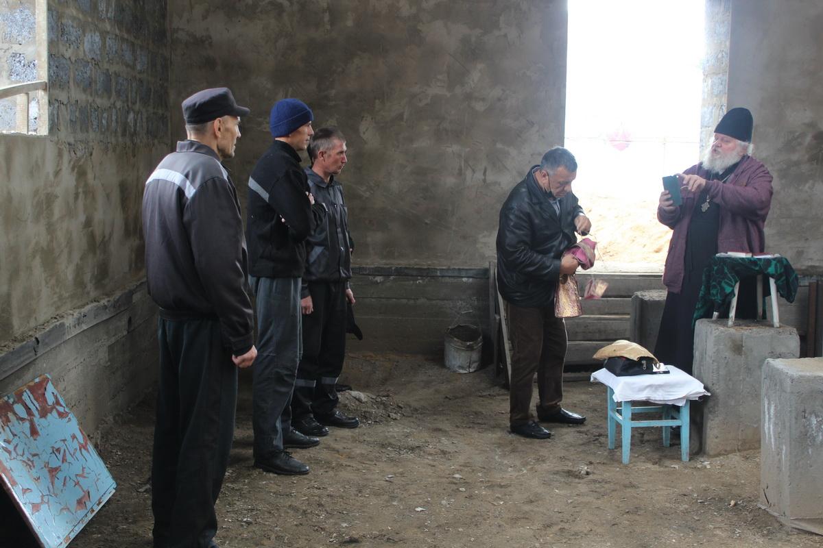 Исправительную колонию №5 г. Читы посетил Протоиерей Виктор Перепичко